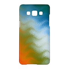 Texture Glass Colors Rainbow Samsung Galaxy A5 Hardshell Case