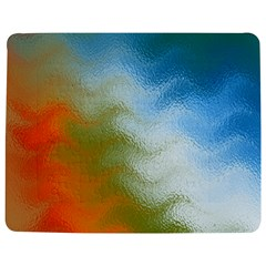 Texture Glass Colors Rainbow Jigsaw Puzzle Photo Stand (Rectangular)