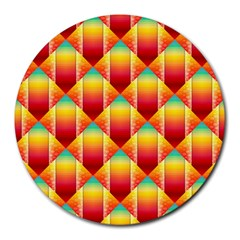 The Colors Of Summer Round Mousepads