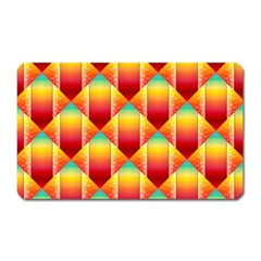 The Colors Of Summer Magnet (rectangular)