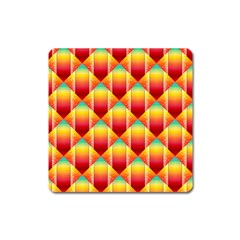The Colors Of Summer Square Magnet