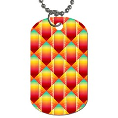 The Colors Of Summer Dog Tag (two Sides)