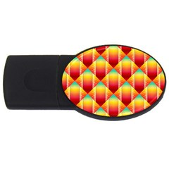 The Colors Of Summer USB Flash Drive Oval (1 GB)
