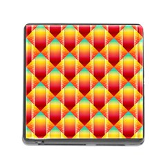 The Colors Of Summer Memory Card Reader (Square)