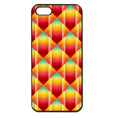The Colors Of Summer Apple Iphone 5 Seamless Case (black)