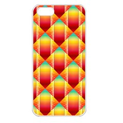 The Colors Of Summer Apple Iphone 5 Seamless Case (white)