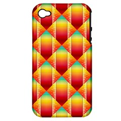 The Colors Of Summer Apple Iphone 4/4s Hardshell Case (pc+silicone)
