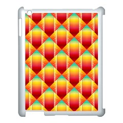 The Colors Of Summer Apple iPad 3/4 Case (White)