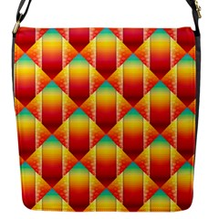 The Colors Of Summer Flap Messenger Bag (S)