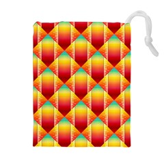 The Colors Of Summer Drawstring Pouches (Extra Large)