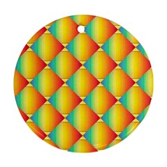 The Colors Of Summer Ornament (round)
