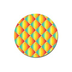 The Colors Of Summer Magnet 3  (round)