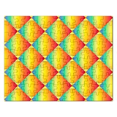 The Colors Of Summer Rectangular Jigsaw Puzzl
