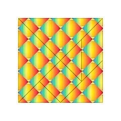 The Colors Of Summer Acrylic Tangram Puzzle (4  x 4 )