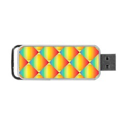 The Colors Of Summer Portable USB Flash (One Side)