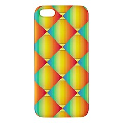 The Colors Of Summer Apple Iphone 5 Premium Hardshell Case