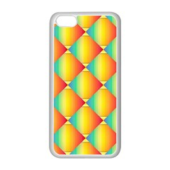 The Colors Of Summer Apple Iphone 5c Seamless Case (white)