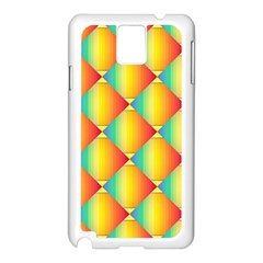 The Colors Of Summer Samsung Galaxy Note 3 N9005 Case (white)
