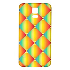 The Colors Of Summer Samsung Galaxy S5 Back Case (white)