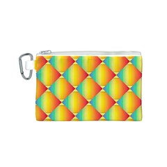 The Colors Of Summer Canvas Cosmetic Bag (S)
