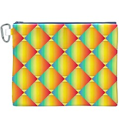 The Colors Of Summer Canvas Cosmetic Bag (XXXL)