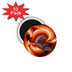 The Touch Digital Art 1 75  Magnets (10 Pack)
