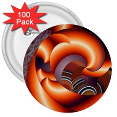 The Touch Digital Art 3  Buttons (100 Pack)