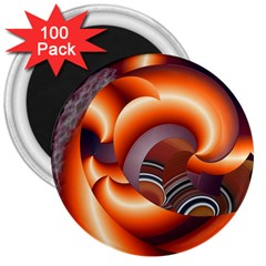 The Touch Digital Art 3  Magnets (100 Pack)