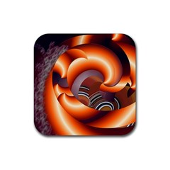 The Touch Digital Art Rubber Square Coaster (4 pack)