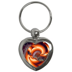 The Touch Digital Art Key Chains (Heart)