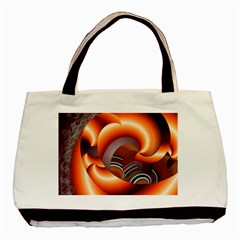 The Touch Digital Art Basic Tote Bag