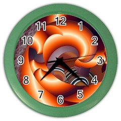 The Touch Digital Art Color Wall Clocks