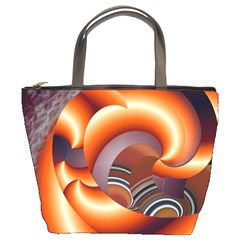 The Touch Digital Art Bucket Bags