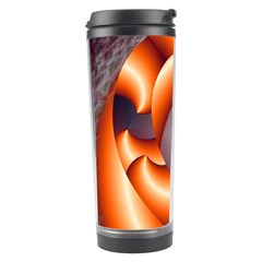 The Touch Digital Art Travel Tumbler
