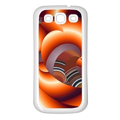The Touch Digital Art Samsung Galaxy S3 Back Case (White)