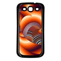 The Touch Digital Art Samsung Galaxy S3 Back Case (Black)