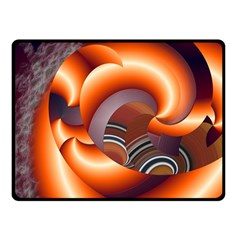 The Touch Digital Art Double Sided Fleece Blanket (Small)
