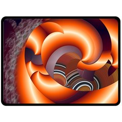 The Touch Digital Art Double Sided Fleece Blanket (large)