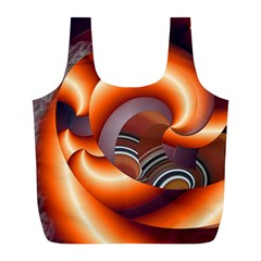 The Touch Digital Art Full Print Recycle Bags (l)