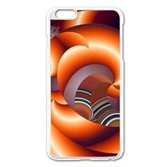 The Touch Digital Art Apple iPhone 6 Plus/6S Plus Enamel White Case