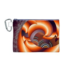 The Touch Digital Art Canvas Cosmetic Bag (m)