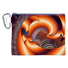 The Touch Digital Art Canvas Cosmetic Bag (xxl)