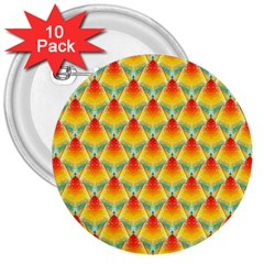 The Colors Of Summer 3  Buttons (10 pack)