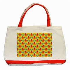 The Colors Of Summer Classic Tote Bag (red)
