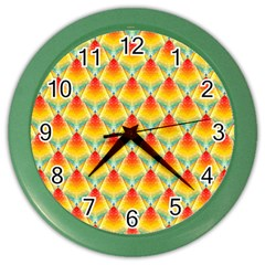 The Colors Of Summer Color Wall Clocks
