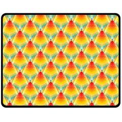 The Colors Of Summer Fleece Blanket (Medium)