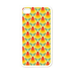 The Colors Of Summer Apple iPhone 4 Case (White)