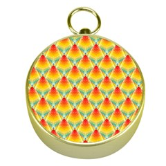 The Colors Of Summer Gold Compasses