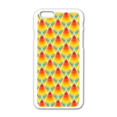 The Colors Of Summer Apple Iphone 6/6s White Enamel Case