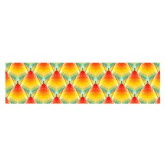 The Colors Of Summer Satin Scarf (oblong)